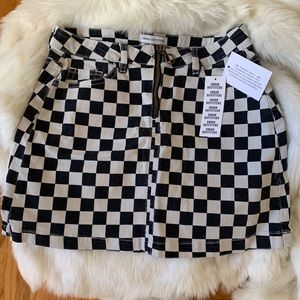 Urban Outfitters Checkered Skirt